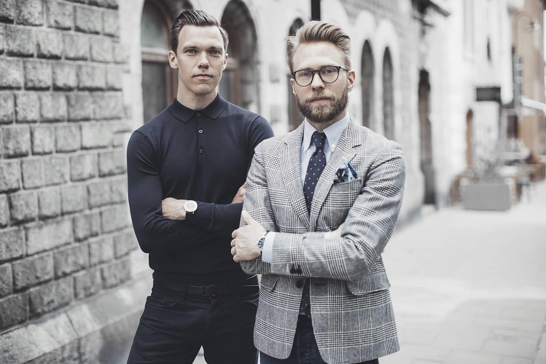 Bravur founders Johan Sahlin and Magnus Äppelryd