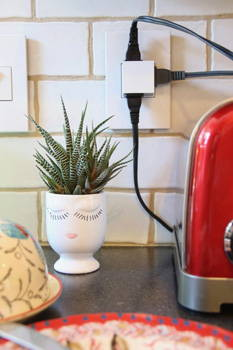 Legrand pop up outlets  adorne pop in out outlet example in kitchen