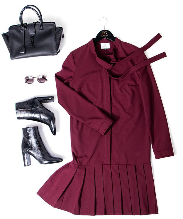 WHAT TO WEAR TO WORK | BURGUNDY
