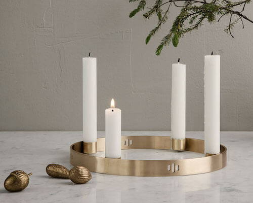 Contemporary candle holders from Ferm Living.