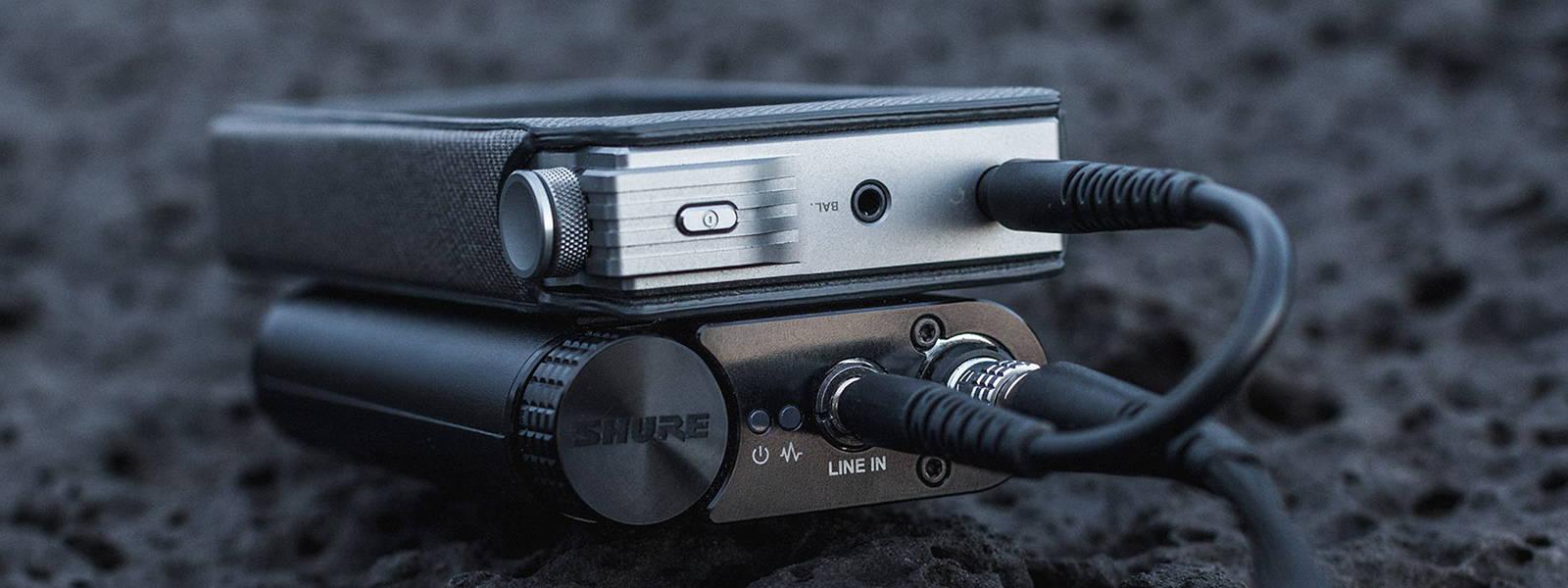 Shure KSE1200 with Astell&Kern AK120 MKii DAP
