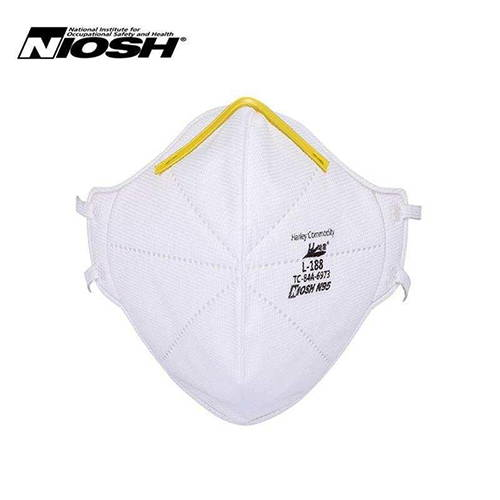 Harley L188 N95 NIOSH Approved Face Mask Respirator