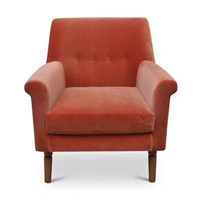Modern Orange Lounge Chairs
