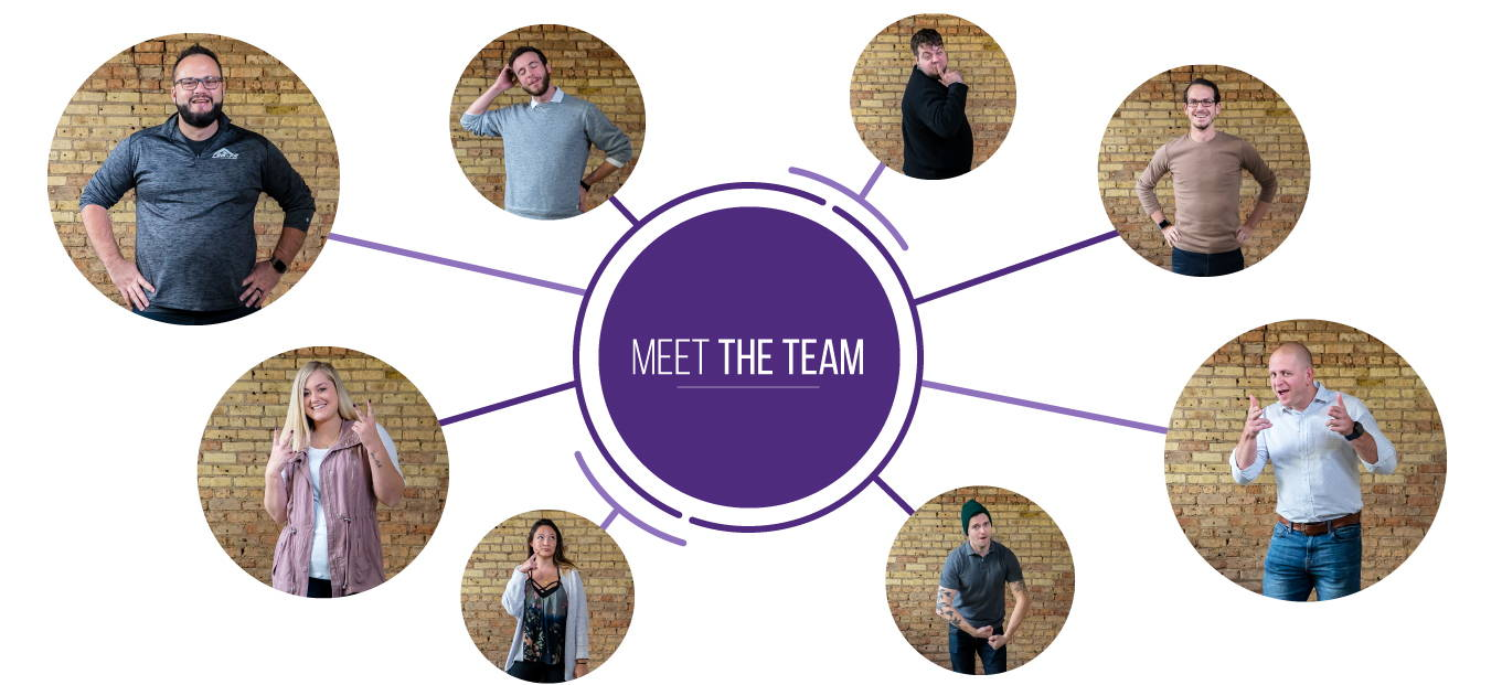 Meet the team. Images of REM-Fit team