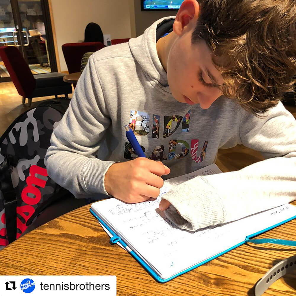 TennisBrother with the Functional Tennis Journal