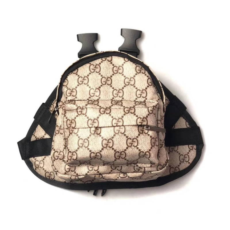 gucci dog backpack harness