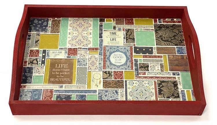 Grand Bazaar Mosaic Tray