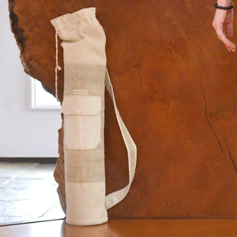 Stemp Hemp Yoga Bag