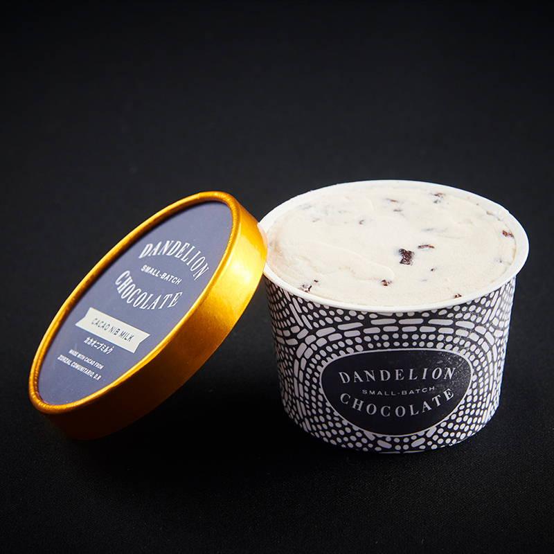 【Dandelion Chocolate (ダンデライオン・チョコレート)】サンフランシスコ発 Bean to Bar チョコレート専門店から「アイスクリーム&ソルベ」をWEB限定で販売!