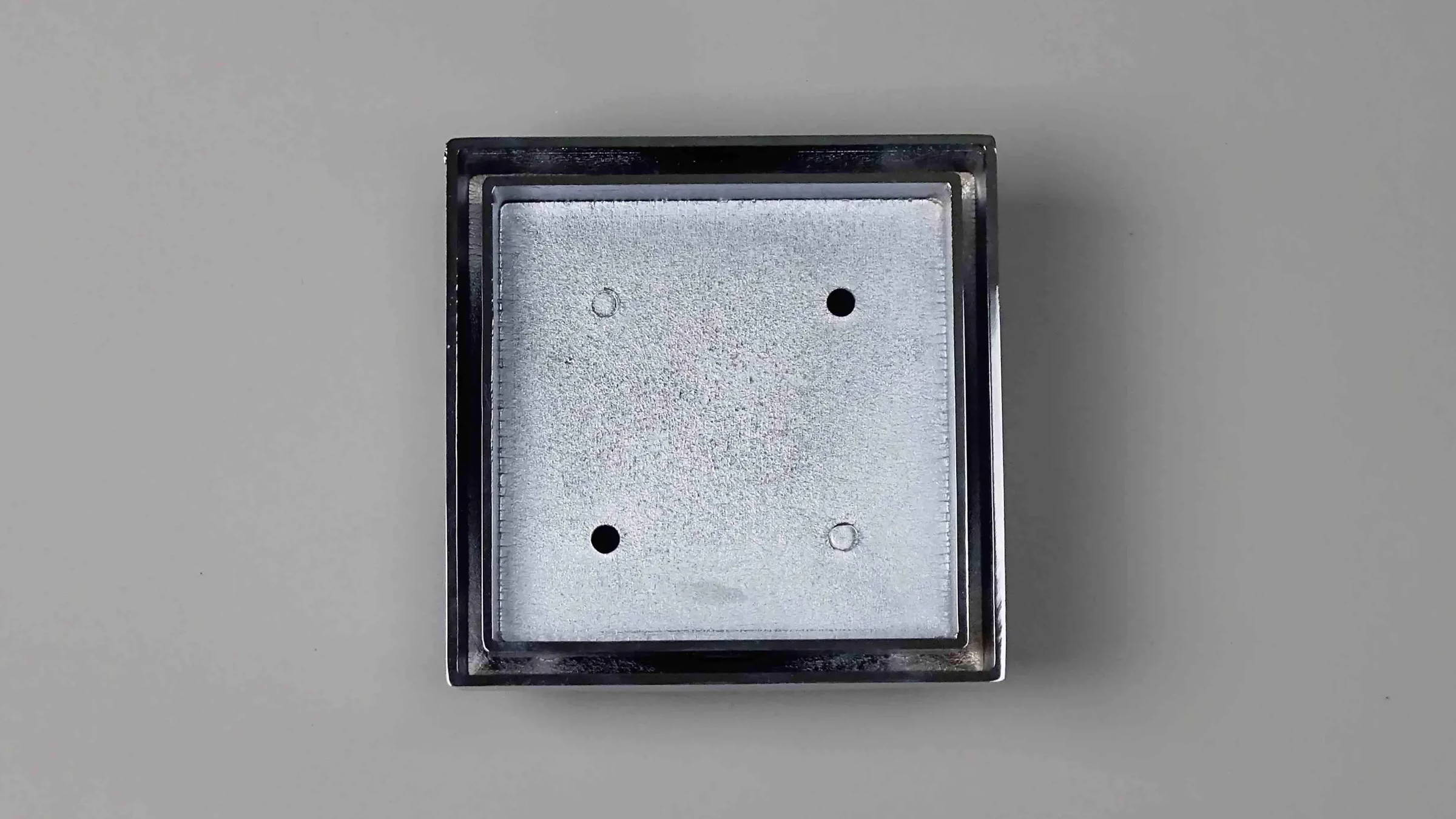 Square Tile-Insert Shower Drain Grate