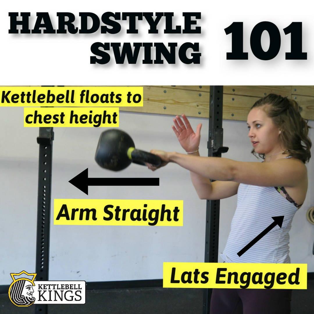 Hardstyle Kettlebell Swing 101 | Kettlebell Kings