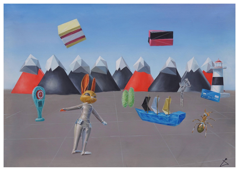 Jamie Martinez VR Painter Artist New York Colombian American Contemporary