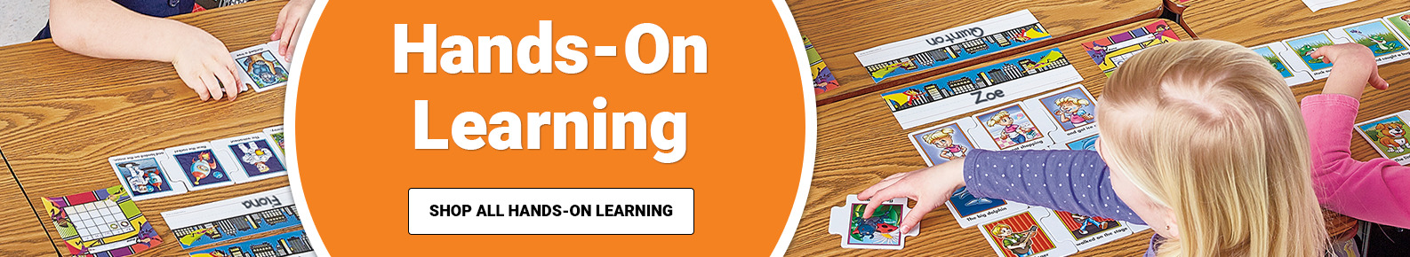 Hands-On Learning for children in the classroom