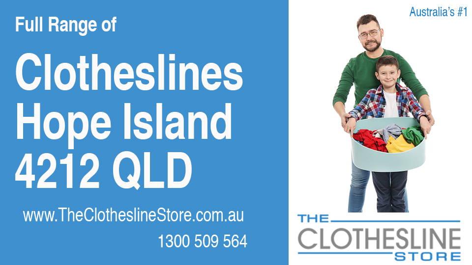 New Clotheslines in Hope Island Queensland 4212
