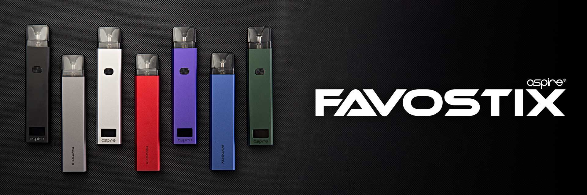 Constructed of aluminum alloy oxidation, combining a elegant, slender design with innovative branding and new coil technology, the Aspire Favostix pod has arrived. It comes to offer a superior flavor and aims to let you experience the colorful, flavourful powerful vaping.