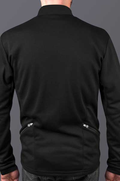 merino wool pullover model back