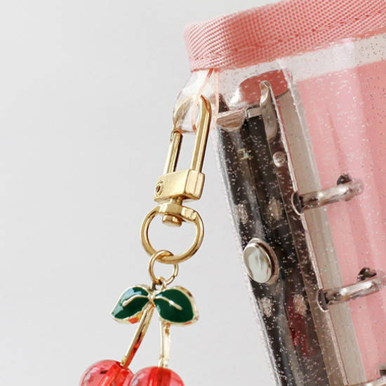 Keyring holder - 2NUL-Cherry-pick-6-ring-dateless-weekly-diary-planner-