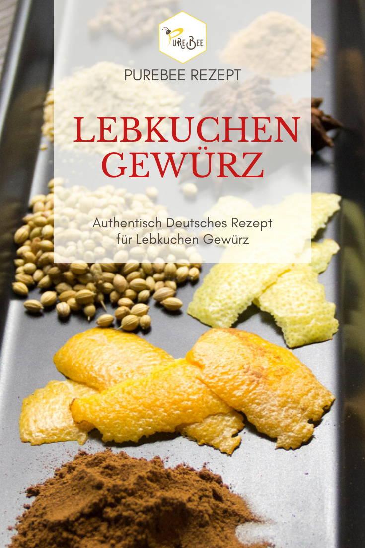 PureBee Recipe Gingerbread spice with delicious spices