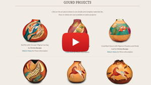 DIY Creative Gourd Projects