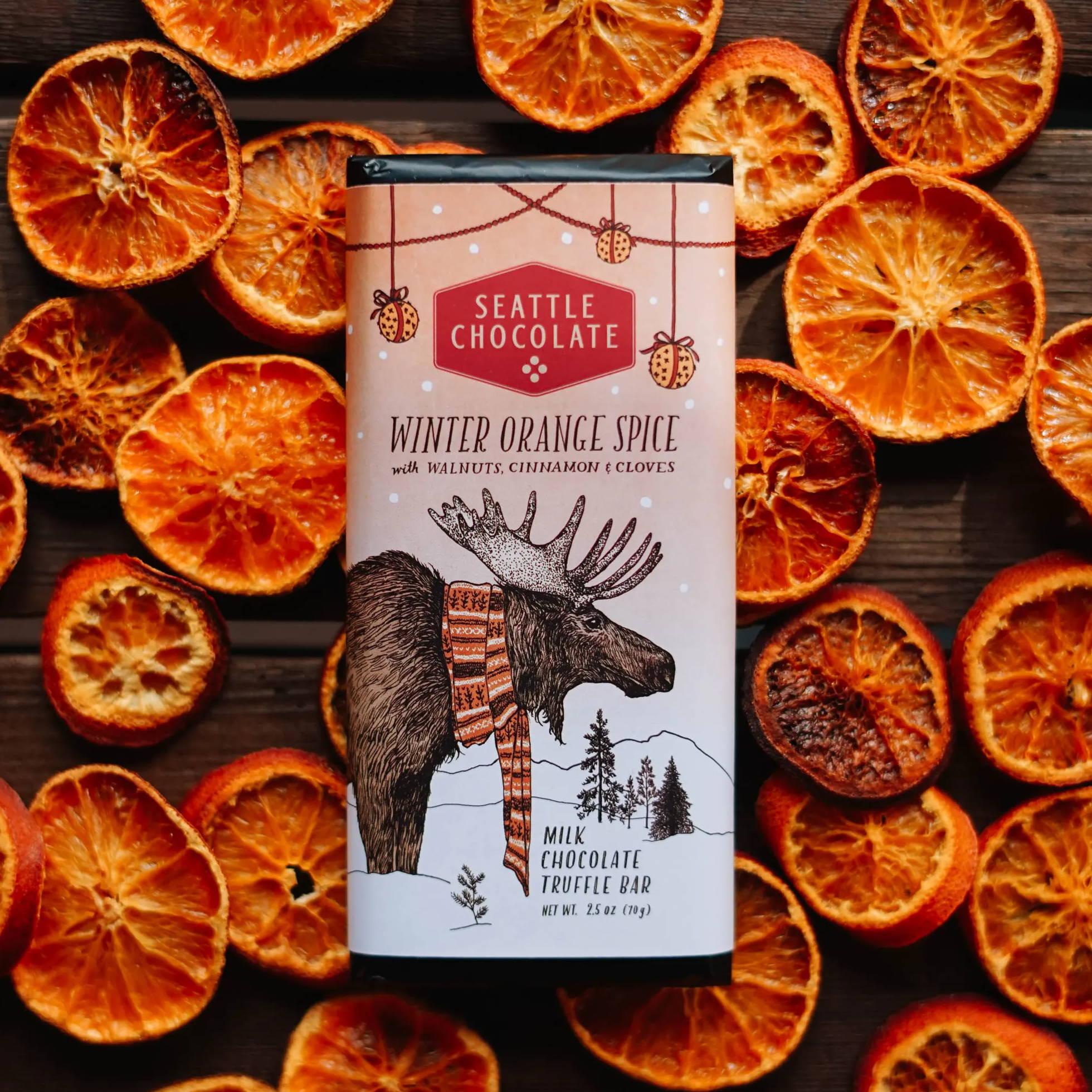 Winter Orange Spice bar