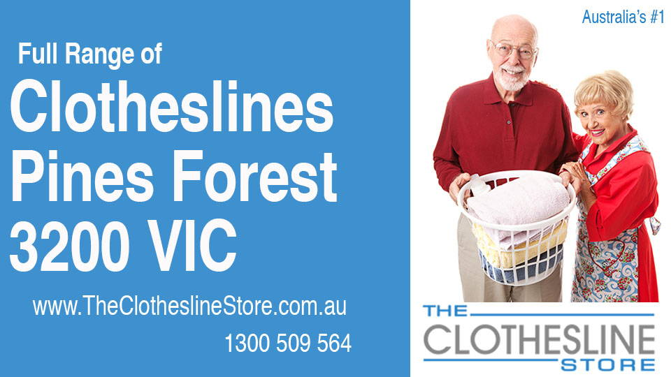 New Clotheslines in Pines Forest Victoria 3200