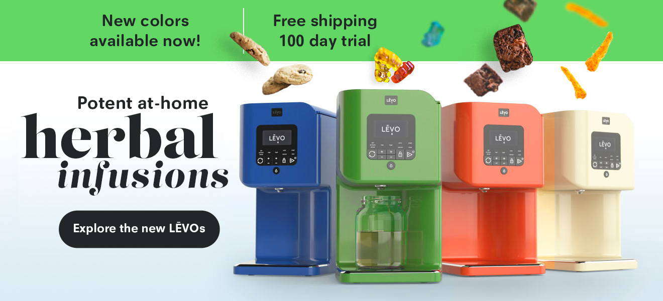 Potent at-home herbal infusions with LEVO machines