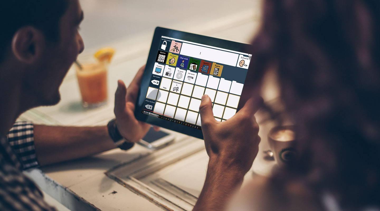 Screenshot eines Webinars mit der Kommunikations-App Compass