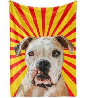 Dog Pop Art Blanket