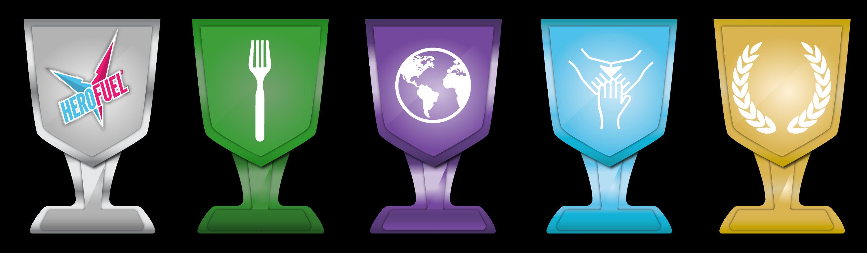 HEROFUEL Trophies