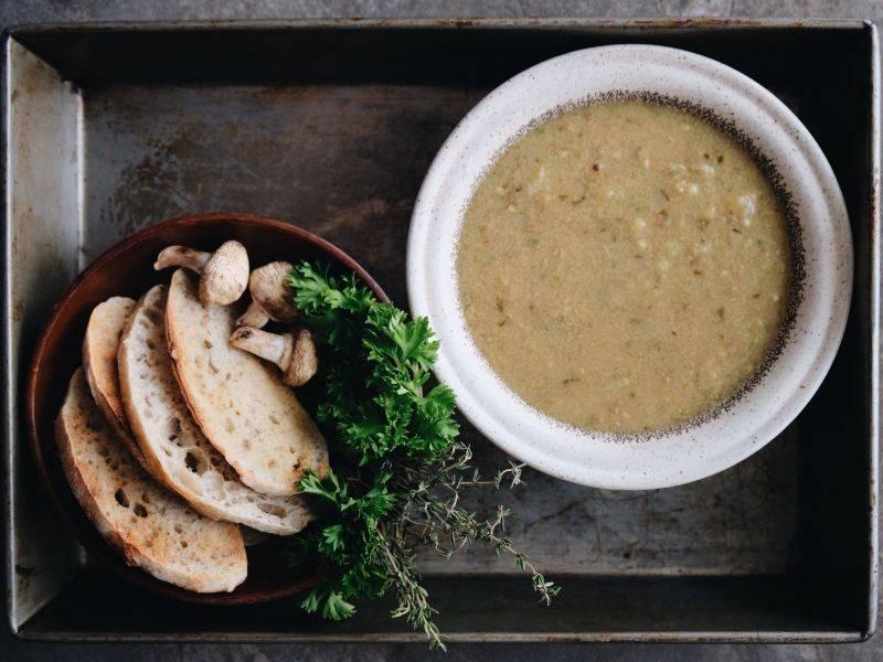 soupe forestière la boite du chef