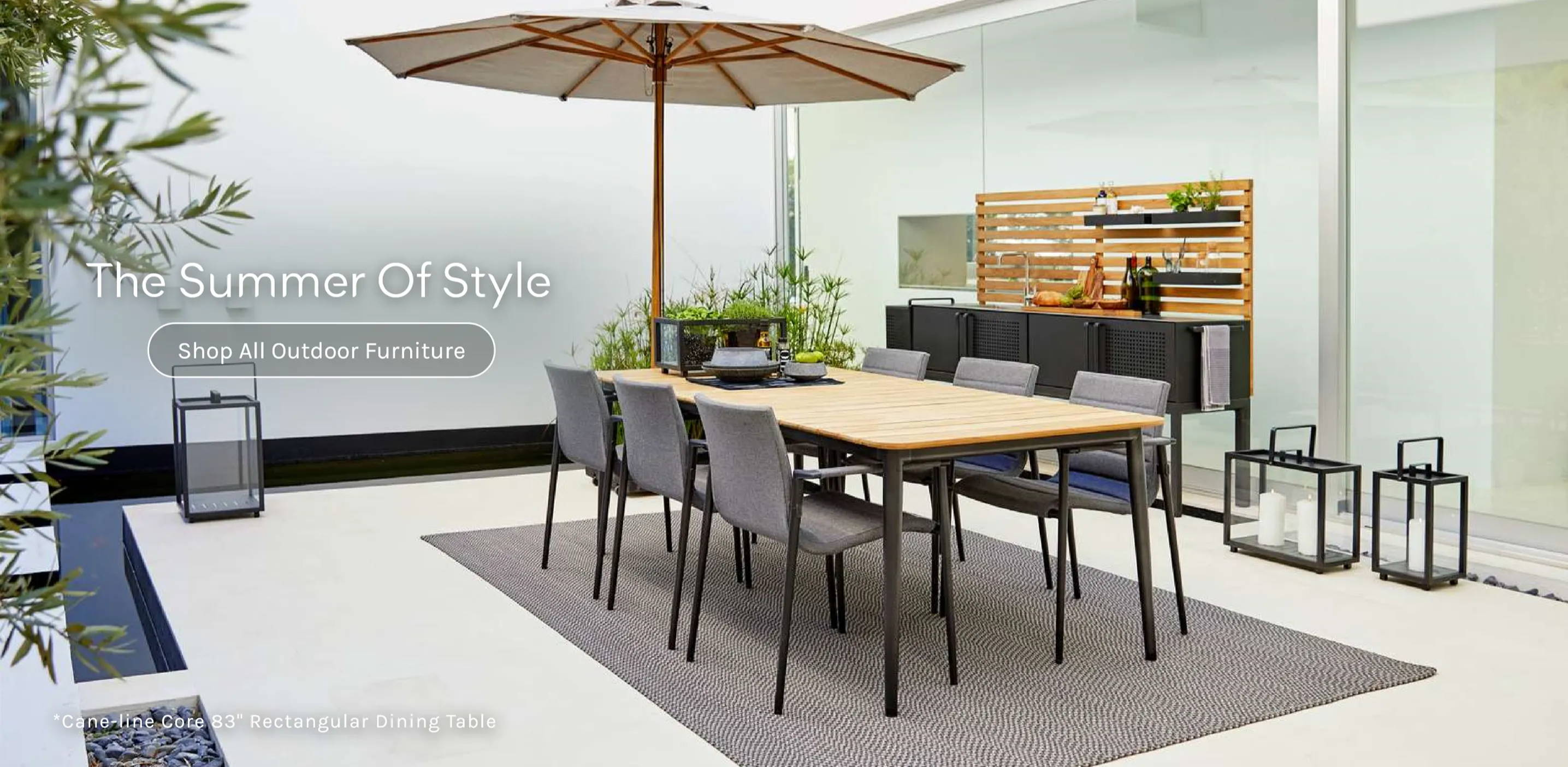 The Summer of Style Shop All Outdoor Furniture