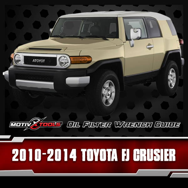 2010 - 2014 Toyota FJ Cruiser Oil Filter Wrench Guide