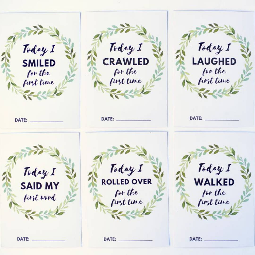 Milestone Cards | Love and Bub