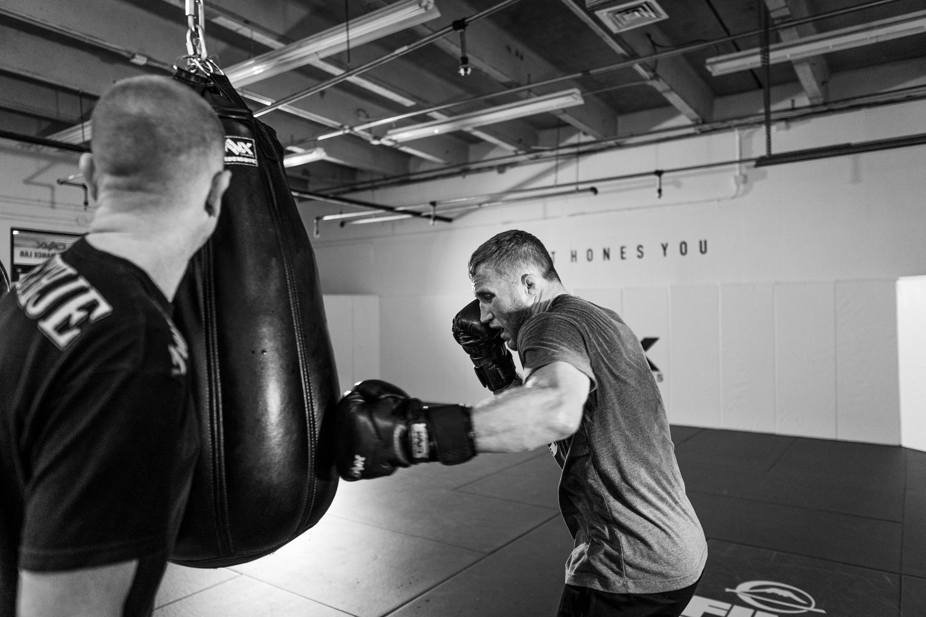 Justin Gaethje, Heavy Bag, ONX Sports, Boxing Gloves, Boxing Equipment, MMA Gloves, Boxing Headgear, Boxing Gear, Hand Wraps, Combat Sports, MMA Gear, Martial Arts Supplies, Muay Thai Gloves, Sparring Gloves, Fight Gloves, MMA Shin Guards, ONX Sports, Trevor Wittman