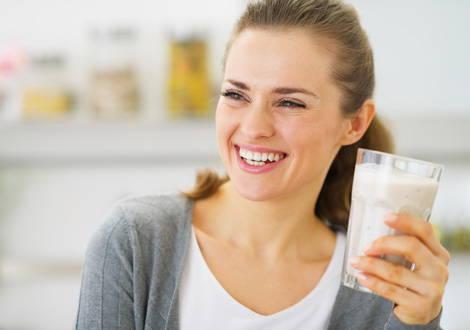 Falsche Zähne vor und nach dem Abnehmen