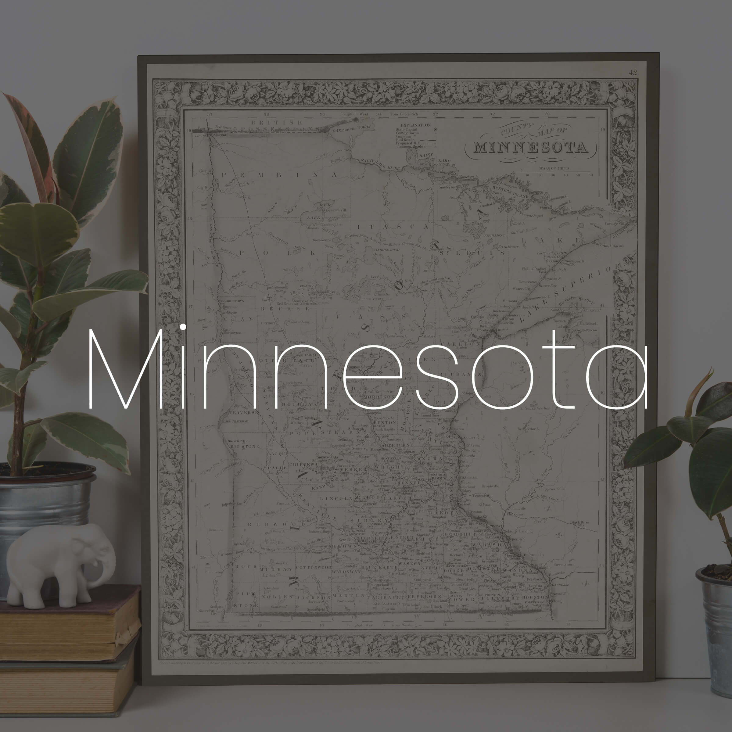 Search for the print you want, by state.