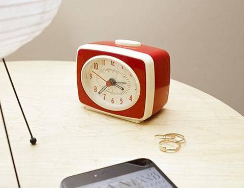Classic Red Alarm Clock