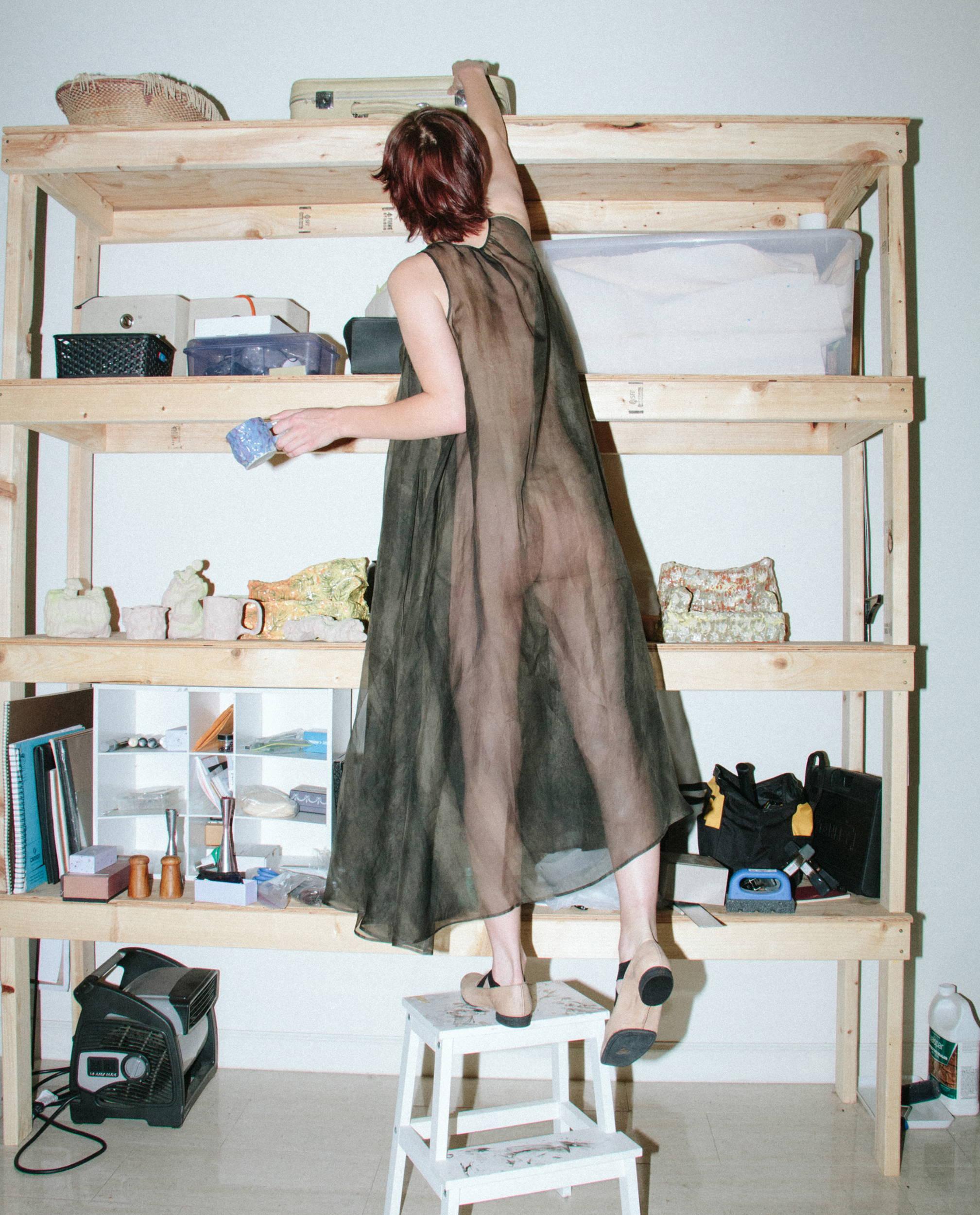 Uma Wang Sillk Dress - Hlorenzo