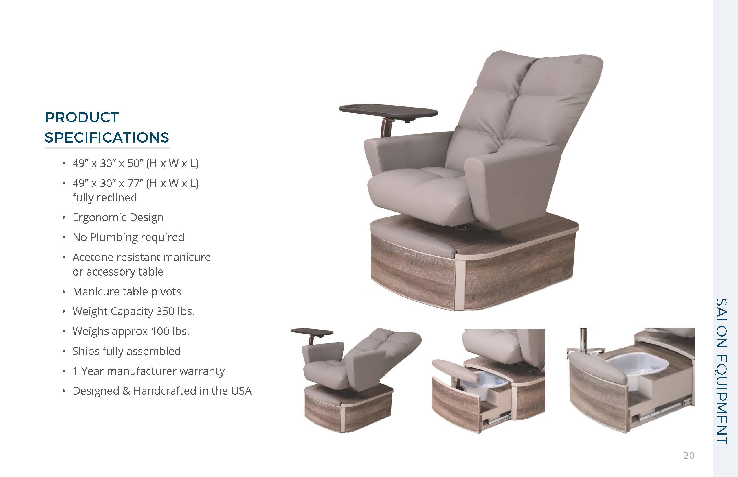 Belava Impact Chair Specs