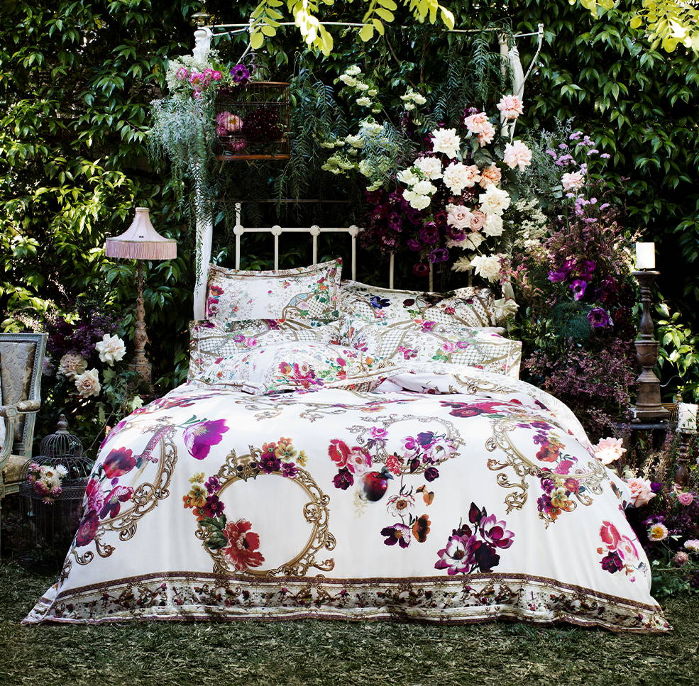 Linen House x CAMILLA Fairy Godmother Bed Linen Range