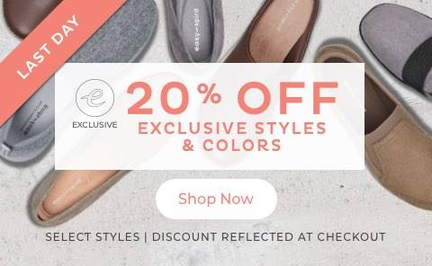 20% Off Exclusives
