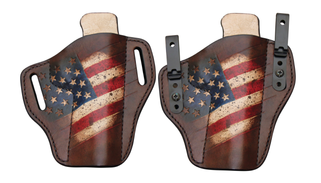 Leather Holsters - IWB and OWB Leather Holsters - 100 Year