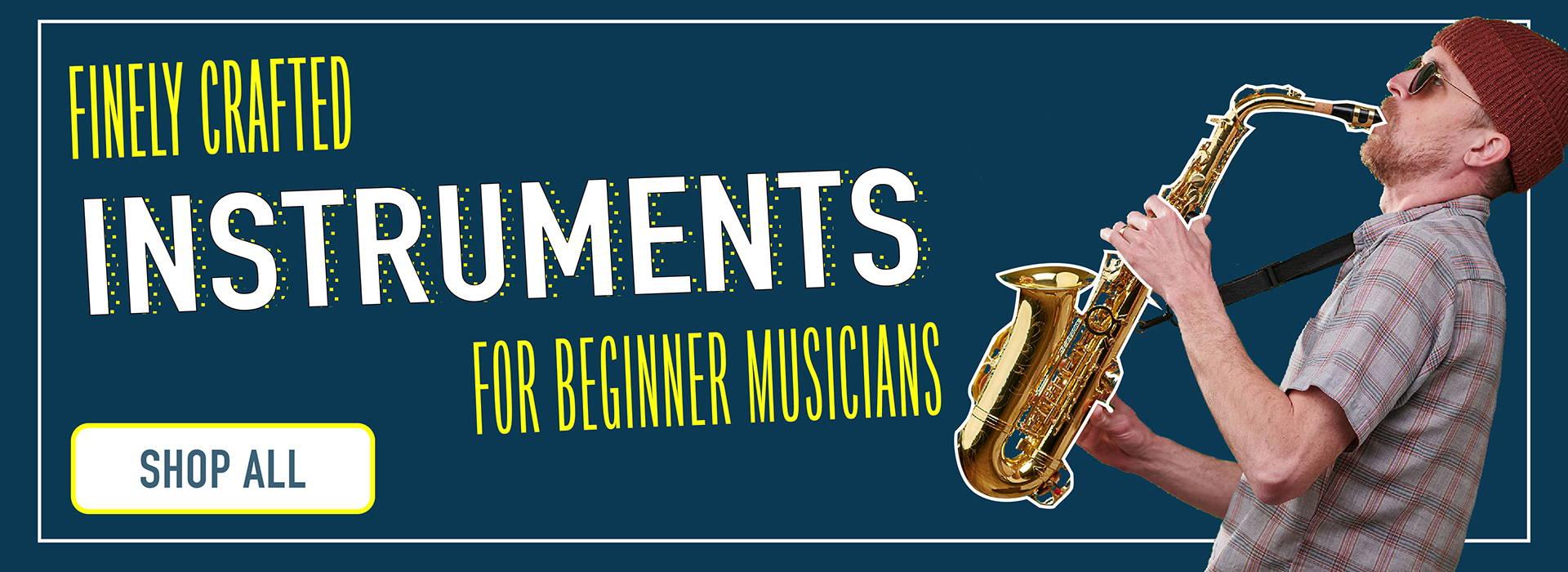 Shop all beginner music instruments