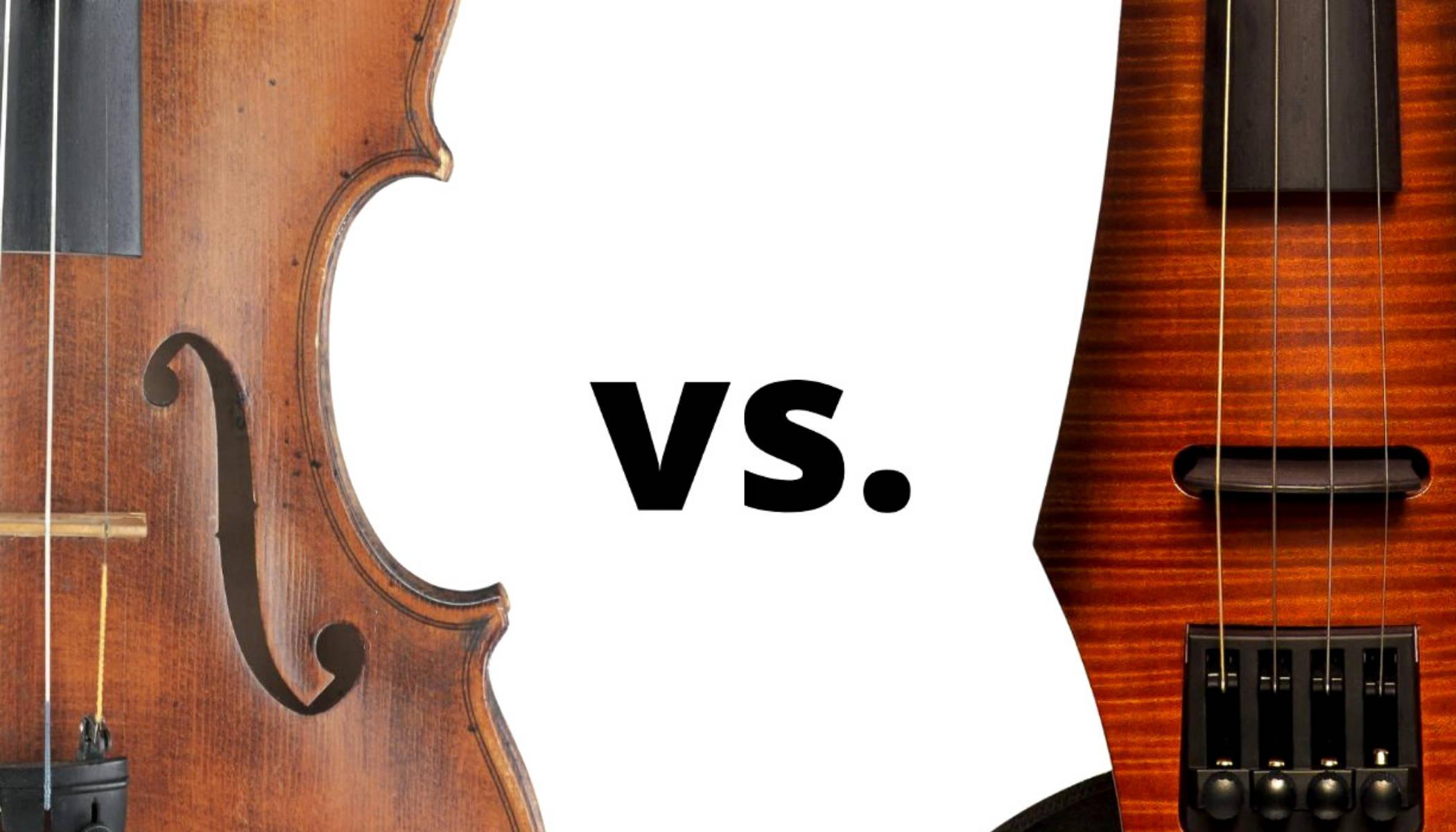 Electric Violin vs Acoustic Violin