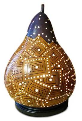 Gourd art by Stuart Broadley