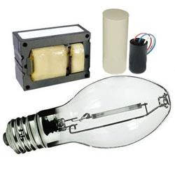 High Pressure Sodium Ballast & Bulb Kit