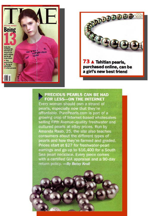Pure Pearls Featured in Time Magazine