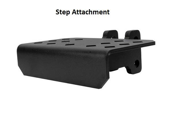 BulletProof Hitches - Step Attachment