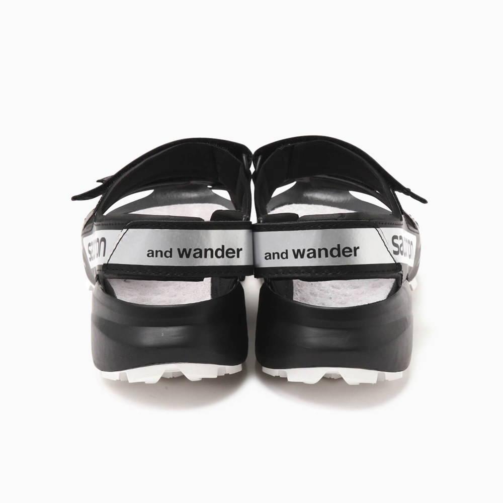 andwander(アンドワンダー)/サロモン スピードクロスサンダル フォーアンドワンダー /ブラック/UNISEX
