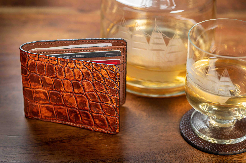 Alligator wallet for men